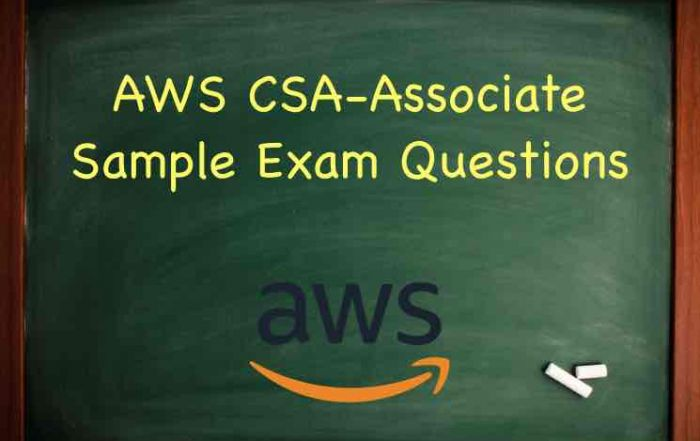 AWS Certified Solutions Architect Associate exam questions