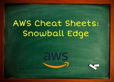 AWS Training Snowball Edge