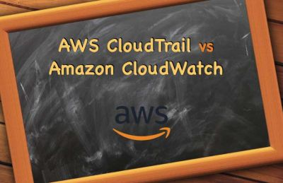 AWS CloudTrail vs Amazon CloudWatch