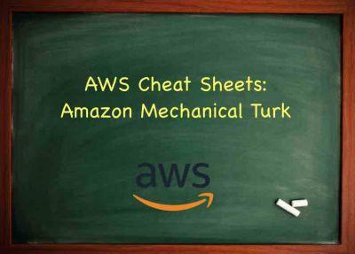 AWS Training Amazon Mechanical Turk