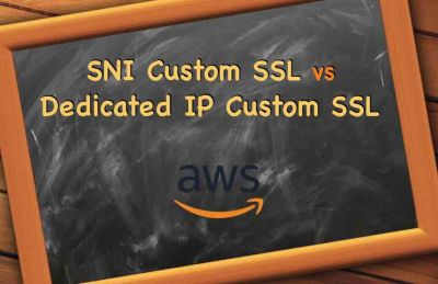 SNI Custom SSL vs Dedicated IP SSL