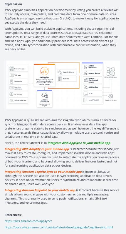 AWS Certified Developer Associate Practice Exams [TEMP